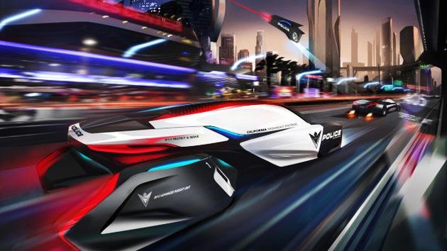 El coche de policía que 'jubilará' a Superman: los vehículos-drone patrullarán en 2025