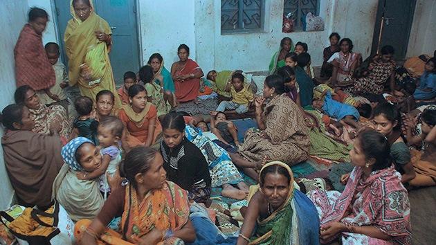 Fotos: El ciclón Phailin deja víctimas mortales y un millón de evacuados en la India