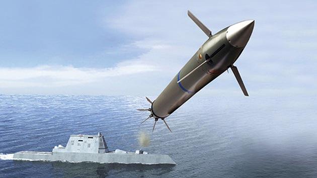 EE.UU. ensaya con éxito misiles guiados por destructores clase Zumwalt
