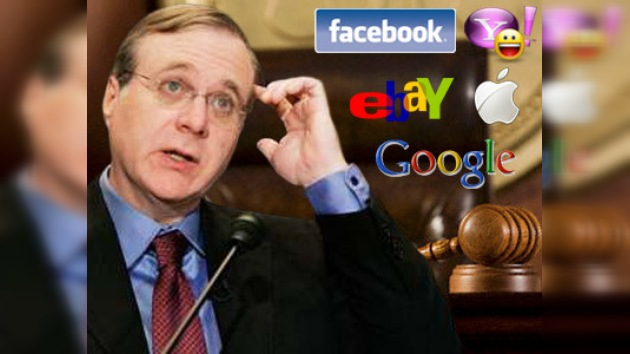 Paul Allen demanda a Apple, Facebook, Google, eBay y Youtube, entre otros