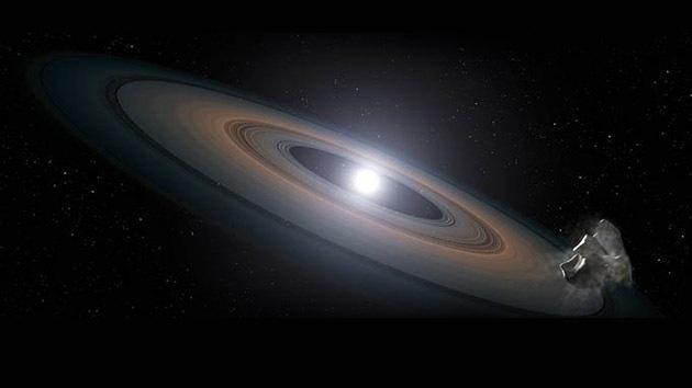 El Hubble detecta enanas blancas 'contaminadas' con restos de planetas