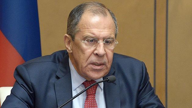 """Lavrov: """"El operativo en el sureste de Ucrania es una limpieza étnica"""""""