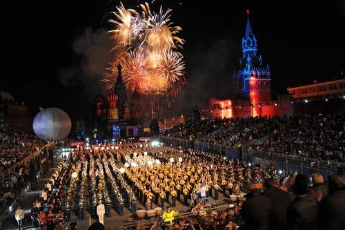 Se inauguró en Moscú un festival de orquestas militares de viento