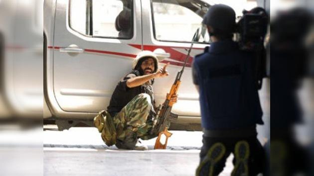 Las imágenes de la toma de Trípoli, una falsificación mediática