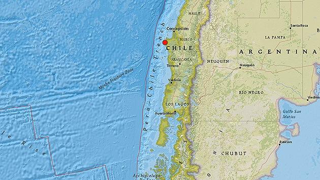 Un sismo de magnitud de 5,1 sacude Chile