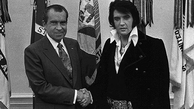 """Elvis a Nixon: """"Quiero ser un agente antidrogas encubierto"""""""