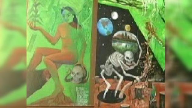Un kilómetro de historia mexicana en un mural