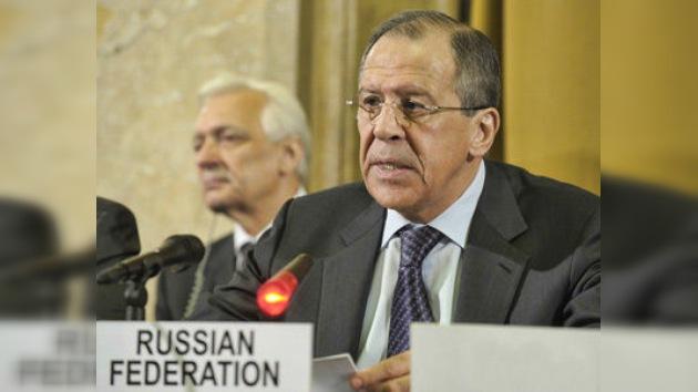 Lavrov: las acciones de la OTAN en Libia pueden causar guerras civiles en la región