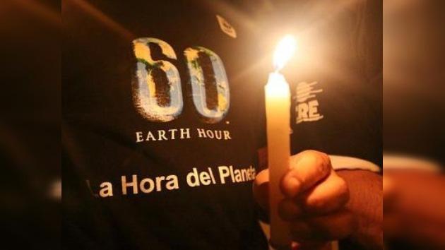 121 países y 3.400 ciudades participarán en la 'Hora del Planeta'
