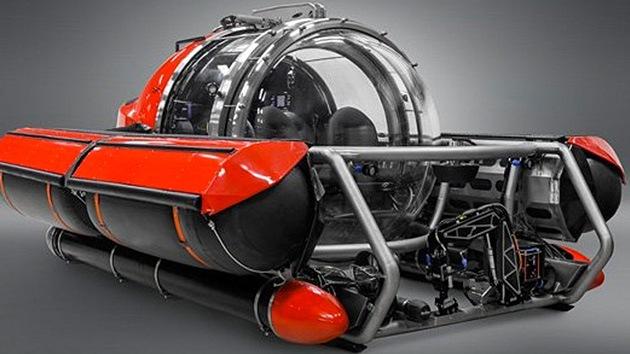 Un mini-submarino de lujo: la nueva 'burbuja' para millonarios