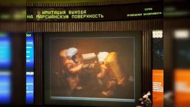 El tercer paseo 'marciano' pone a prueba las capacidades humanas