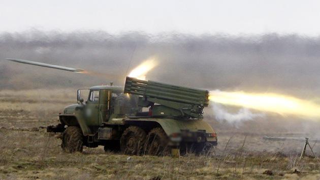 La milicia popular de Slaviansk destruye la instalación que bombardea la ciudad