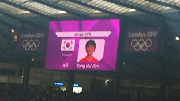 Londres 2012: organizadores de los JJ.OO. confunden las banderas de las dos Coreas