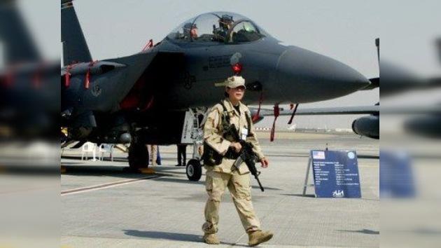 Chocan en el aire un avión de caza francés y otro saudita