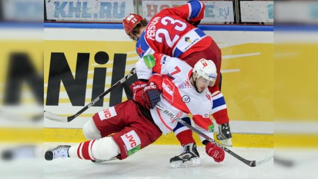 KHL: CSKA gana el clásico moscovita y aleja aún más al Spartak de los playoff