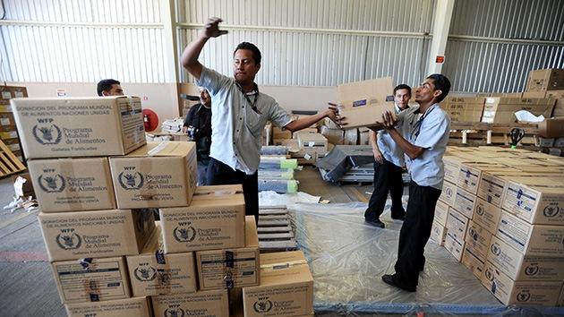 La ONU corta la ayuda alimentaria a Siria por escasez de fondos