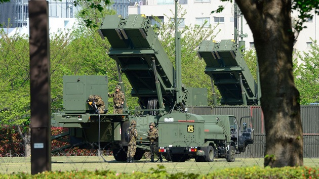 Sistemas Patriot llegan a la isla japonesa de Okinawa ante la amenaza norcoreana
