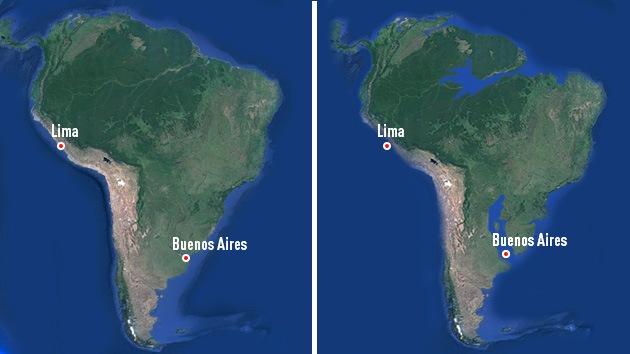 Revelan cuándo y por qué Buenos Aires, Barcelona y otras ciudades desaparecerán del mapamundi