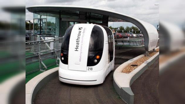 Un transporte ecológico y sin conductor para las terminales de Heathrow