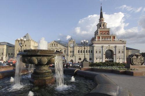 Comienza la temporada de fuentes en Moscú y San Petersburgo