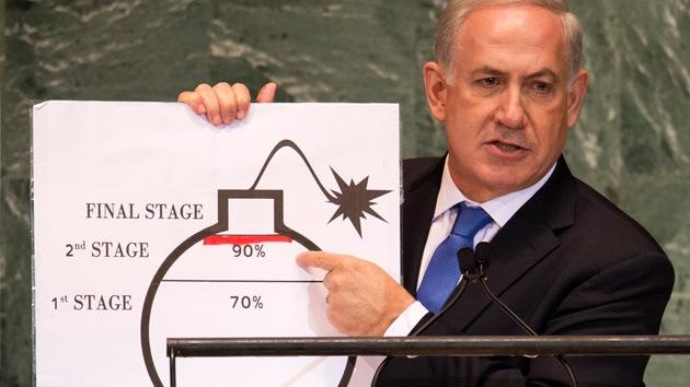 """Israel busca convencer a EE.UU. para que ataque Irán"""