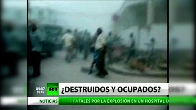 Video con los primeros minutos del terremoto en Haití