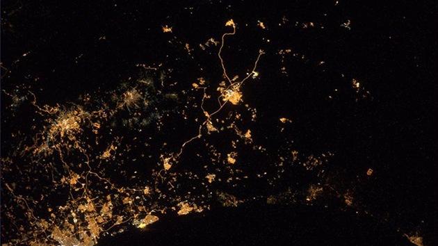 La imagen más triste: la zona del conflicto en la Franja de Gaza desde el espacio