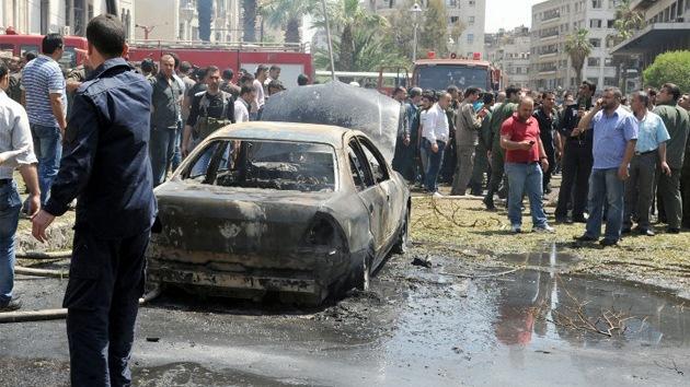 Al menos cuatro muertos y varios heridos por una potente explosión en Damasco