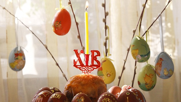 Fotos: Los ortodoxos rusos celebran la Pascua siguiendo sus propias tradiciones