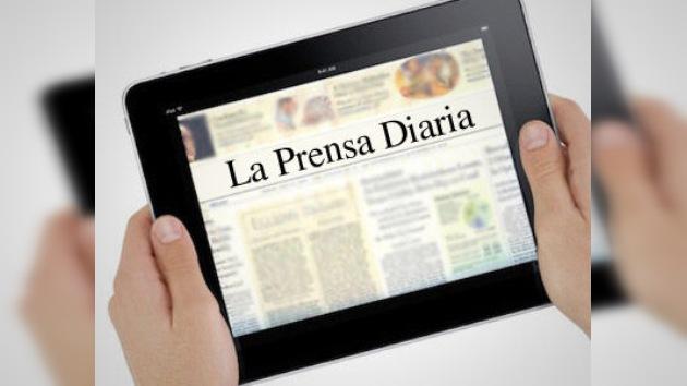 Los propietarios de los medios apuestan por el iPad