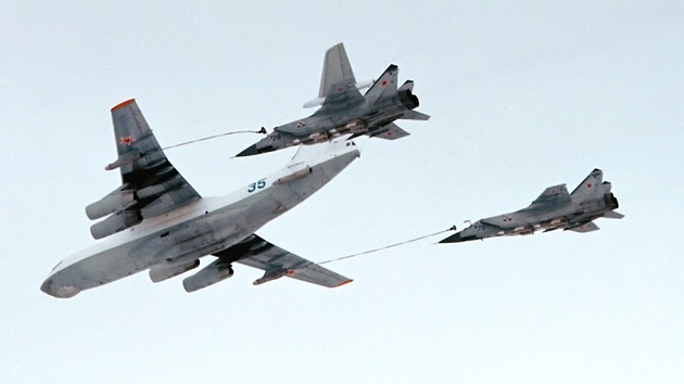 Rusia lanza un simulacro de alta escala de su Fuerza Aérea