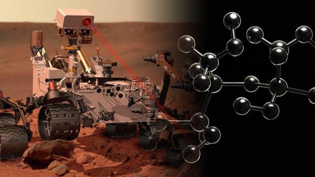 La NASA encuentra moléculas orgánicas en Marte