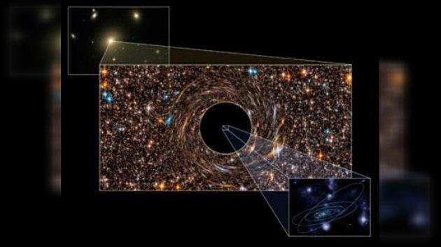 Descubren los dos agujeros negros más 'voraces' del Universo