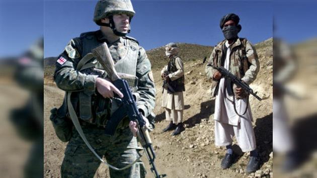 Georgia refuerza su contingente en Afganistán