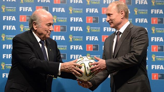 El Mundial marca el inicio de la visita de Putin a Brasil