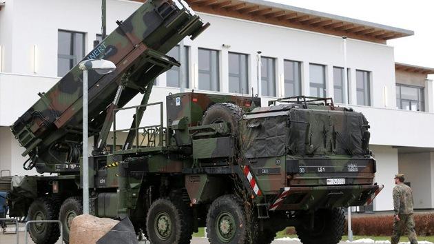 Los Patriot en Turquía acercarán la guerra contra Irán