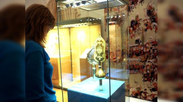 Se exponen en Moscú los tesoros, símbolo del poder de los sultanes otomanos