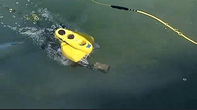 Robot submarino, encargado de la limpieza de los ríos en EE.UU.