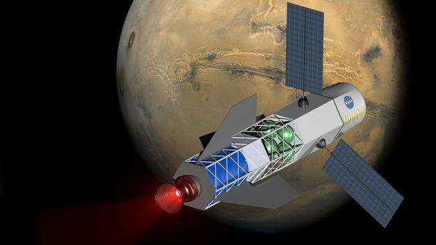 Combustible nuclear hará posible realizar viaje de ida y vuelta a Marte en 30 días