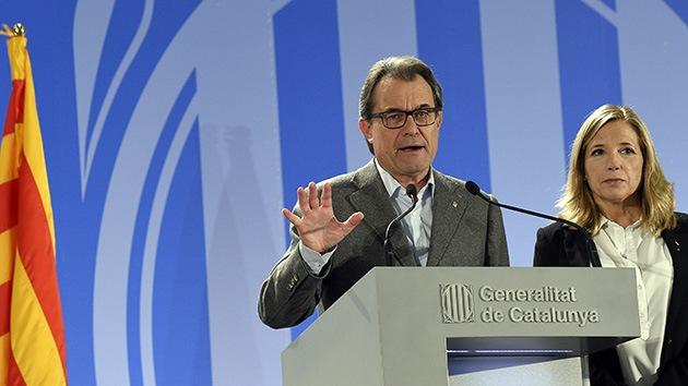 Artur Mas: La consulta en Cataluña fue un éxito total y una lección de democracia