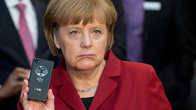 Las escuchas del móvil de Angela Merkel desatan la llamada del humor en la Red