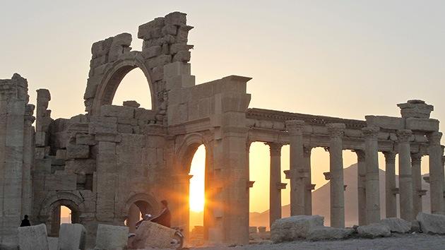 La coalición de EE.UU. ataca al EI en Siria cerca de las ruinas de la antigua Palmira