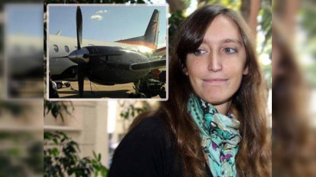 Una joven que había viajado en el avión siniestrado comentó en Twitter su experiencia