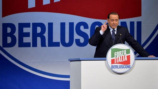 Berlusconi desafía al euro y aboga por una moneda nacional