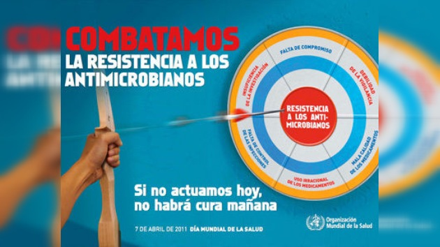 La resistencia a los antimicrobianos, tema del Día Mundial de la Salud