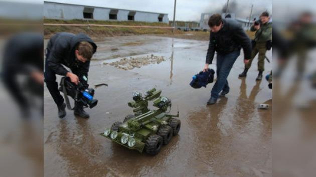 Rusia aspira a competir con EE.UU. en el campo de la robótica militar