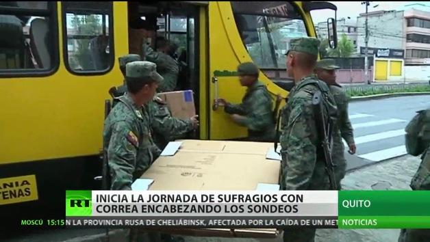 Decenas de miles de ecuatorianos residentes en el extranjero ya votan a su presidente