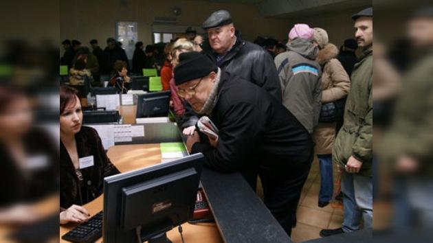 El desempleo, uno de los problemas más complicados de Rusia en 2010