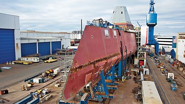 Destructor Zumwalt: ¿revolucionario buque hecho en vano?