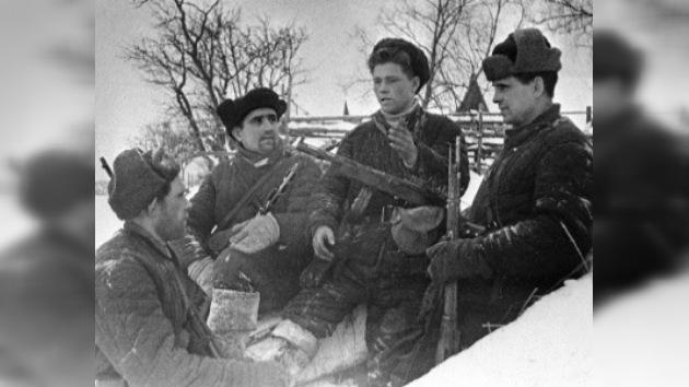 Las hazañas de los guerrilleros rusos